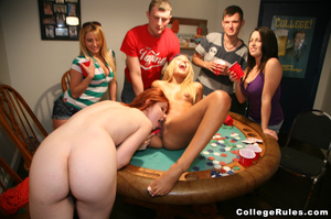 Ginger student girl gets her cunt pounde - XXX Dessert - Picture 6