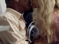 Very hot blonde tee Helen pleasing old boy - XXX Dessert - Picture 6