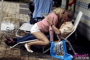 Very hot blonde tee Helen pleasing old b - XXX Dessert - Picture 7