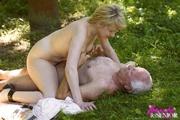 slutty blonde chick allows