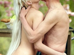 Gorgeous young blonde with big boobs takes - XXX Dessert - Picture 5