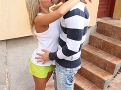 Very hot busty blonde teen gets her tight - XXX Dessert - Picture 5