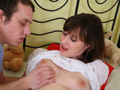 This slutty teen brunette loves to be banged hard - XXXonXXX - Pic 2