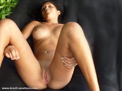 Busty ebony babe demonstrates her nice naked body - XXXonXXX - Pic 7