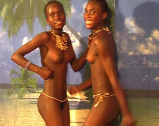 hot black young chicks