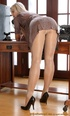 This blonde slutty secretary doesn't love to wear…