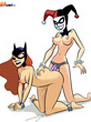 Batgirl and Claire are the nastiest cartoon girls.