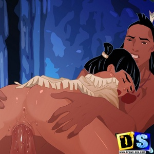 Round booty toon indian chick doesn't mind being ass fucked.