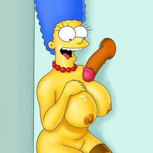 marge simpson big tits naked