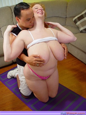 Horny Redhead Gets Her Pussy Licked - XXX Dessert - Picture 16