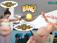 Absolutely crazy 3d porn cartoon with a guy being - Picture 5