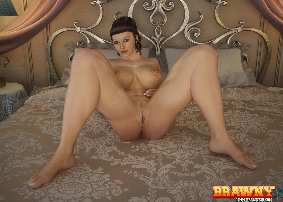 Best sex brunette girl fucking boy