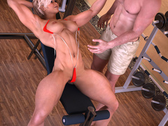 Horny dude seduces cool fit blonde to dirty sex in - Picture 2