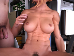 Blonde naked mom gets fucked eagerly on the - Picture 5