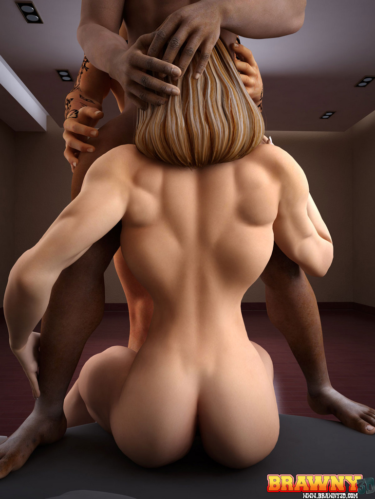 muscular babes gets fucked