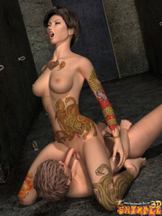Bodacious 3d toon trannies with nice bobs and lovely - Picture 10