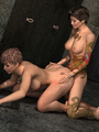 Cool tattooed 3d toon ladyboy rimming - Picture 2