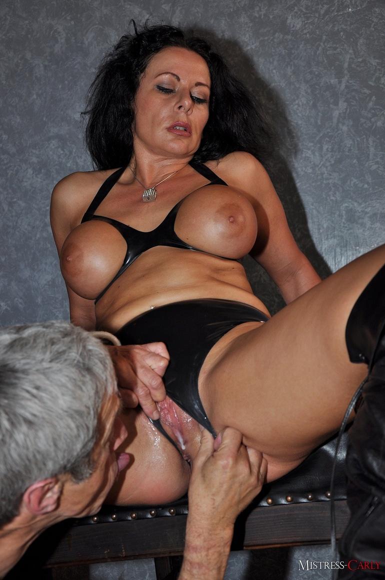 Horny dominatrix