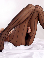 Bodacious stewardess takes off her - Sexy Women in Lingerie - Picture 10