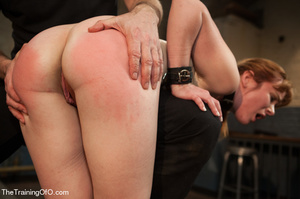 Bound and hung naked red girl is tortured badly in the master's basement - XXXonXXX - Pic 11