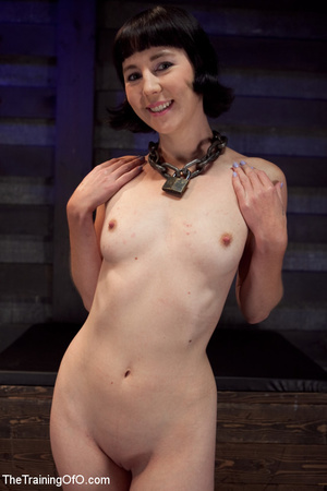Brunette girl gets jeered and punished badly with ropes and various clams before dirty banging in the basement - XXXonXXX - Pic 7