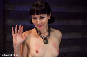 Brunette girl gets jeered and punished badly with ropes and various clams before dirty banging in the basement - XXXonXXX - Pic 15