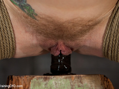 Blonde naked girl gets jeered by her master with - XXXonXXX - Pic 6
