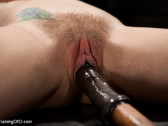 Blonde naked girl gets jeered by her master with - XXXonXXX - Pic 15