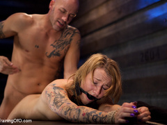 Tattooed enslaved girl in cincher and boots gets - XXXonXXX - Pic 5