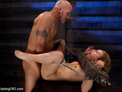 Tattooed enslaved girl in cincher and boots gets - XXXonXXX - Pic 7