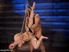 Tattooed enslaved girl in cincher and boots gets - XXXonXXX - Pic 11
