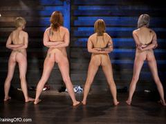 Three stretched and bound tgether girls gets - XXXonXXX - Pic 11
