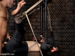 Dark-haired girl in special bondage tight and her - XXXonXXX - Pic 3