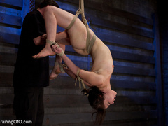 Two enslaved girls roped together get punished - XXXonXXX - Pic 1