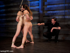 Two enslaved girls roped together get punished - XXXonXXX - Pic 7