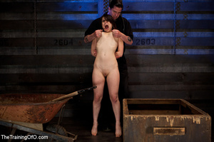 Two enslaved girls roped together get punished hard with whips before fucking - XXXonXXX - Pic 9