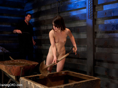 Two enslaved girls roped together get punished - XXXonXXX - Pic 12