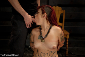 Four bound and suspended girls get tortured and punished badly by bdsm training master - XXXonXXX - Pic 6