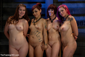 Four bound and suspended girls get tortured and punished badly by bdsm training master - XXXonXXX - Pic 12