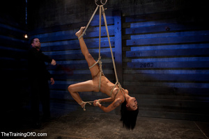 Swarhty Asian girl lves to be bound and suspended by her kinky master - XXXonXXX - Pic 7