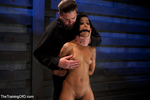 Swarhty Asian girl lves to be bound and suspended by her kinky master - XXXonXXX - Pic 8