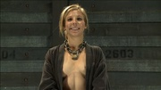 blonde chick stretched ropes