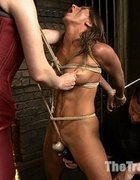 New enslaved girls trying on gag-balls, bondage&hellip;