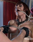 New girl receive their chains and locks as a…