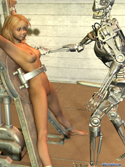 Iron bot fucking cool blonde 3d toon teen - Cartoon Porn Pictures - Picture 2