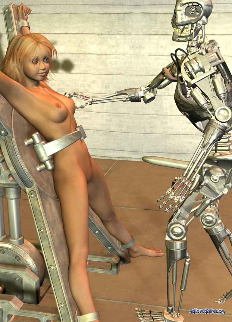 фото секса роботов порно