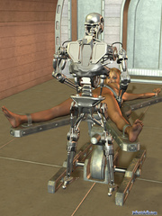Iron bot fucking cool blonde 3d toon teen - Cartoon Porn Pictures - Picture 8