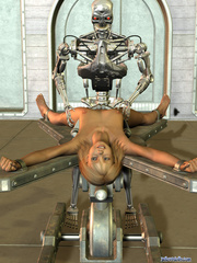Iron bot fucking cool blonde 3d toon teen - Cartoon Porn Pictures - Picture 9