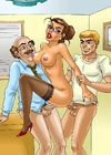 Bald boss and his assistant fucking hard hot…