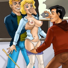 cartoons horny student sexy